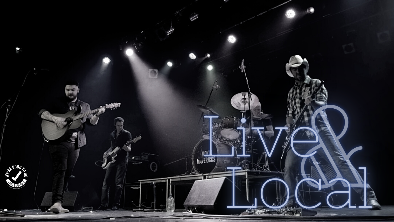 Smokin mavericks band on stage